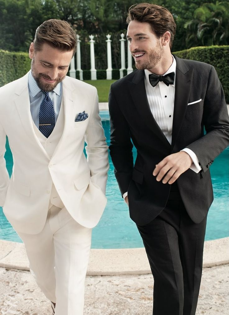Black or white suit ? -Both.