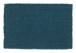 "Autumn colour of jute rug from DIxie ""denim blue"""