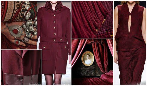 DORLY DESIGNS: Fashion Forecast: Top Runway Colours Fall 2015 Winter 2016