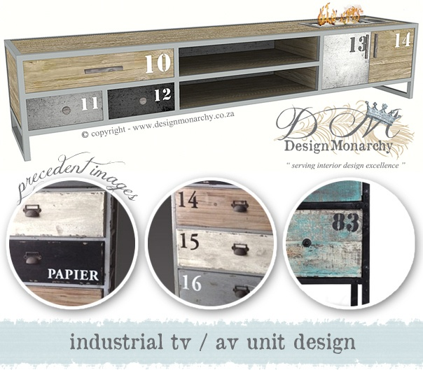 Industrial AV Unit Design by Design Monarchy