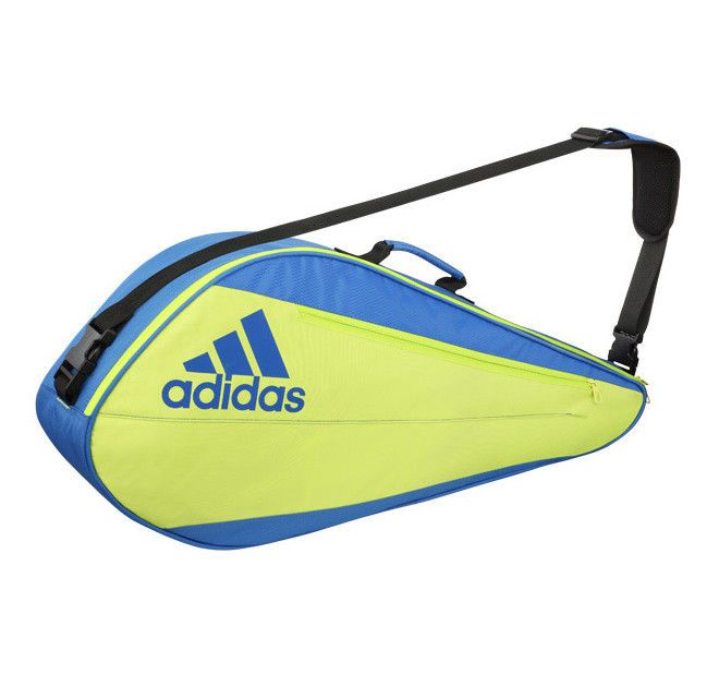 Adidas Uberschall F3 Badminton Bag Thermo Blue Green Racket Racquet Nwt Bg220111 Adidas Bags Badminton Bag Tennis Bag