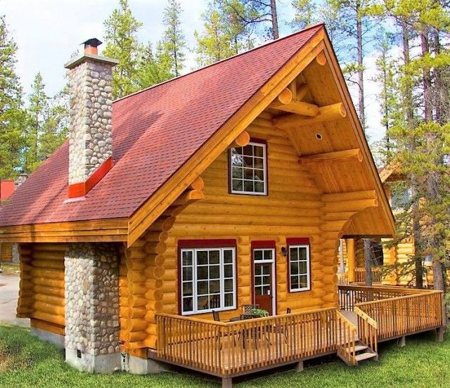 Canadian Log Home Small Log Homes Small Log Cabin Plans Log Home Builders