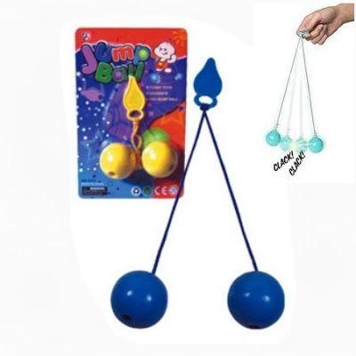 Juegos y Juguetes de Antaño: Las bolas clik clak