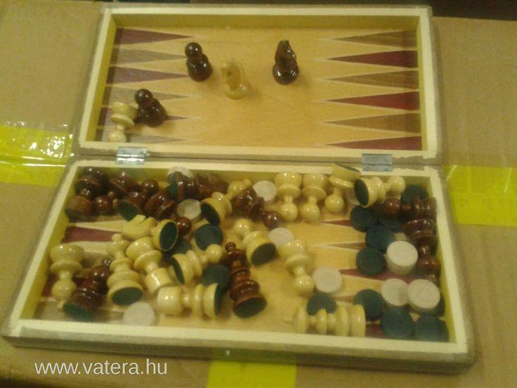 Fa Sakk  32x32cm - 3990 Ft - Nézd meg Te is Vaterán - Sakk - http://www.vatera.hu/item/view/?cod=2153929364