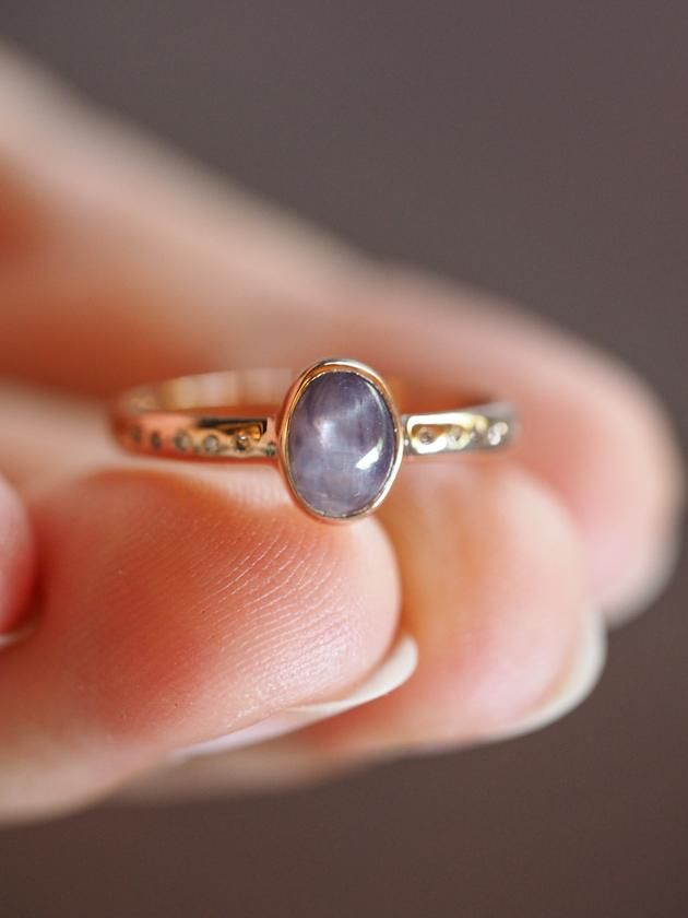Ceylon Star Sapphire Ring in Rose Gold    She took her time. Sat down with her fears, floated idly in her own tears. Listened toher insecurities, heard what they had to say. Then she began writing....
