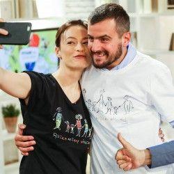 Magdalena Różczka i Antoni Pawlicki