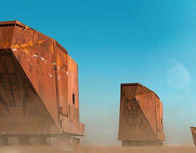 "Check out new work on my @Behance portfolio: ""Jawa Sandcrawler Convoy"" http://be.net/gallery/52887125/Jawa-Sandcrawler-Convoy"