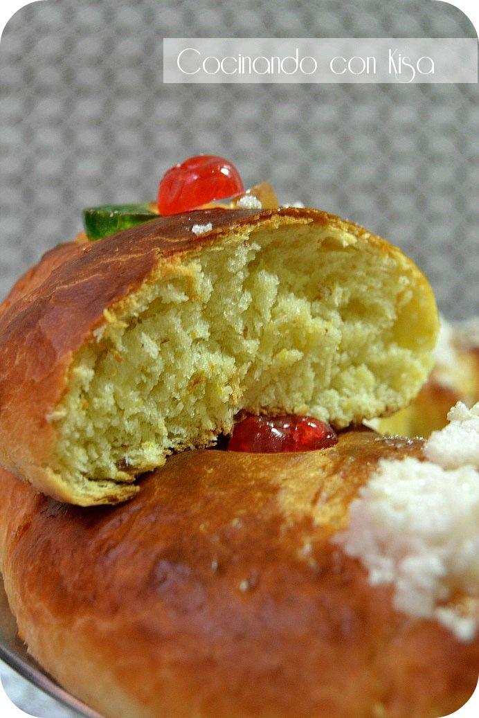 Cocinando con Kisa: Roscón de reyes con buttermilk (KitchenAid) y cumpleaños