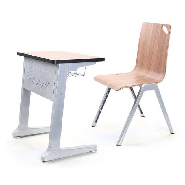 Source Collaborative School Desk Table Trapezoid Plywood Mold Bench Student Single Double Desks Chair Free Combo On M Aliba Table Desk School Desks Double Desk