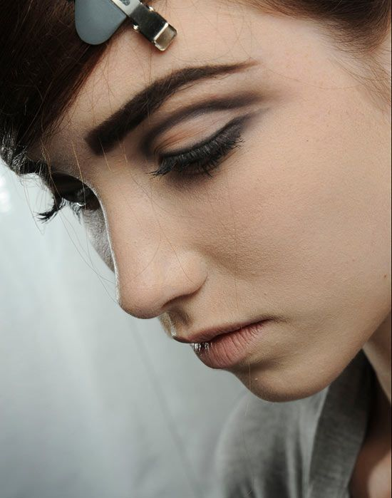 60's makeup look at Marc Jacobs Spring/Summer 2013 runway  Special Occasion Makeup