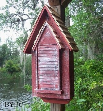 Heartwood Victorian Bat House - traditional - pet accessories - The Backyard Bird Company