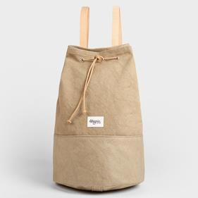 Mochila KHAKI | UOHOP #UOHOPLifestyle #UOHOPproducts #ethicalfashion #slowfashion #backpack