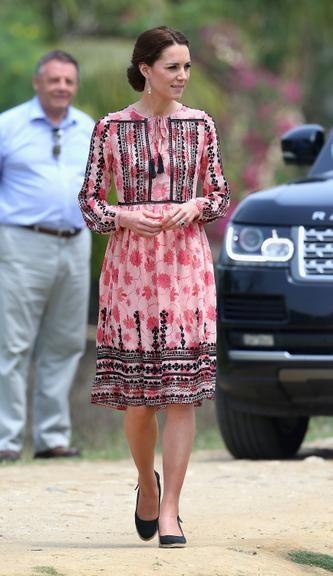 Veja os looks de Kate Middleton em viagem à Índia