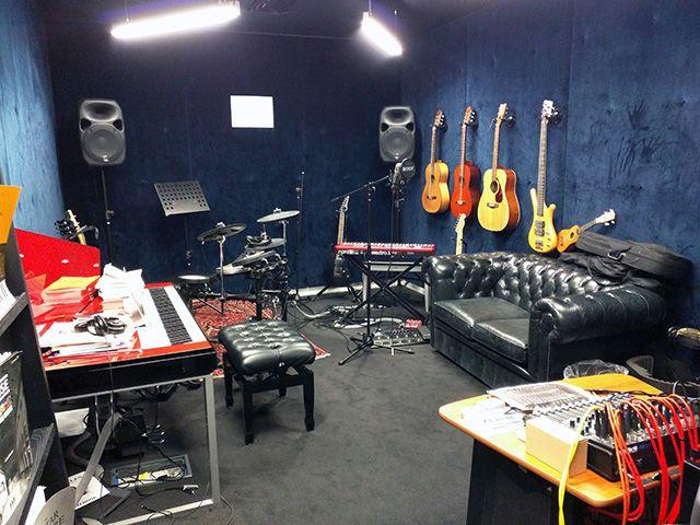 Google London Music Room