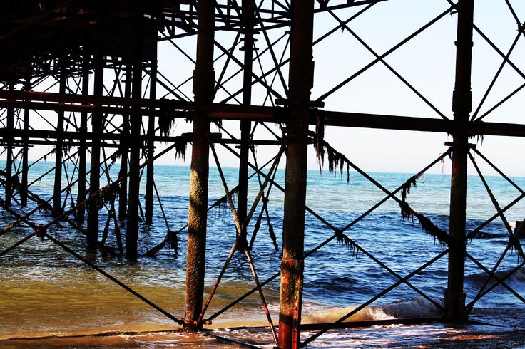 Under Brighton Pier Anna Hawes© i chose this image because it is somewhere secretive and misleading, which is how the white rabbit is in the film as he stays hidden to everyone else other than alice