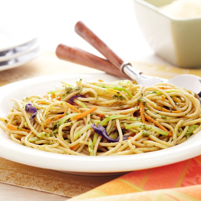Italian Broccoli Slaw Pasta