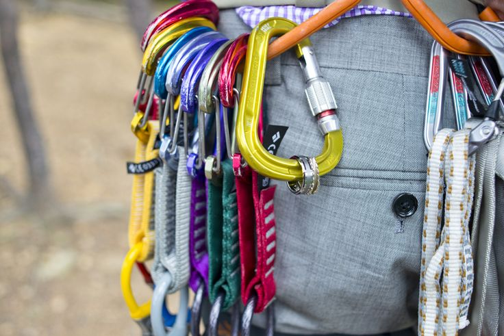, Rock Climbing Ring Shot, Wedding Ring Shot, Wedding Ring and Climbing, Wedding Ring on Carabiner http://www.raynamcginnisphotography.com/sneak-peek-new-river-gorge-rock-climbing-wedding-felix-and-erica/