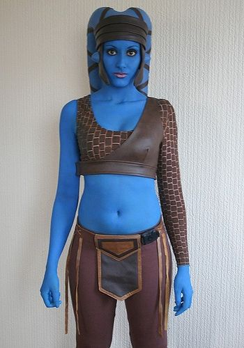 Aayla Secura costume by Asha Tank, via Flickr