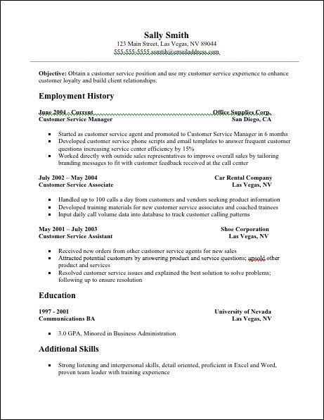 Best 25+ Resume services ideas on Pinterest Resume experience - example customer service resume