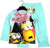 Nové - Světlemodré pyžamo s Mimoni