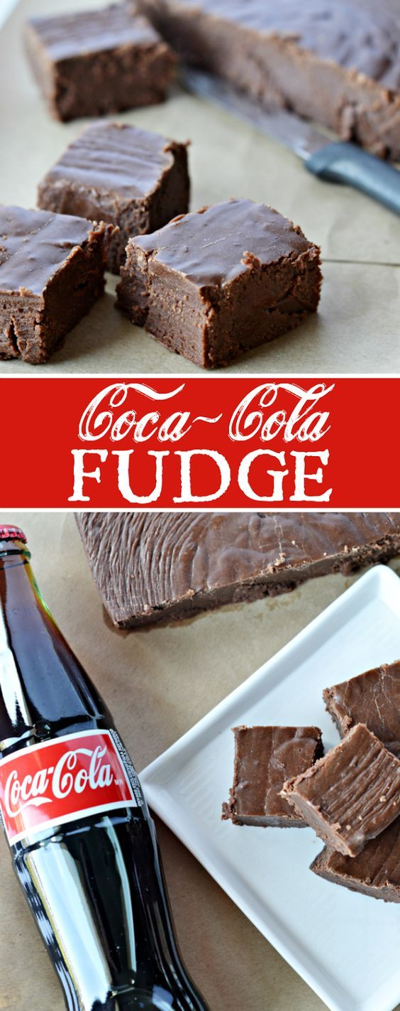 Coca-Cola Fudge Recipe | Cake And Food Recipe