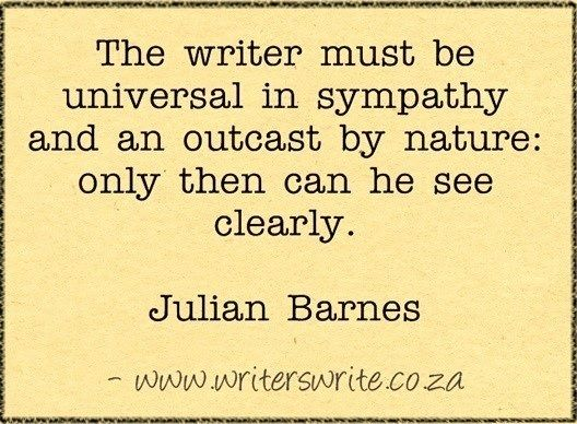 Quotable - Julian Barnes - Writers Write Creative Blog