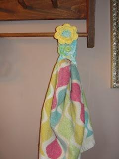 handdoek hanger