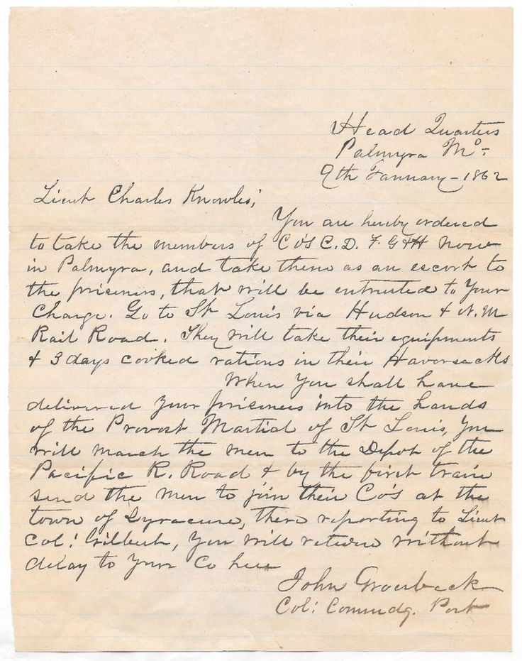 4 Civil War Correspondence Letters from 1862-1864 Union Mail