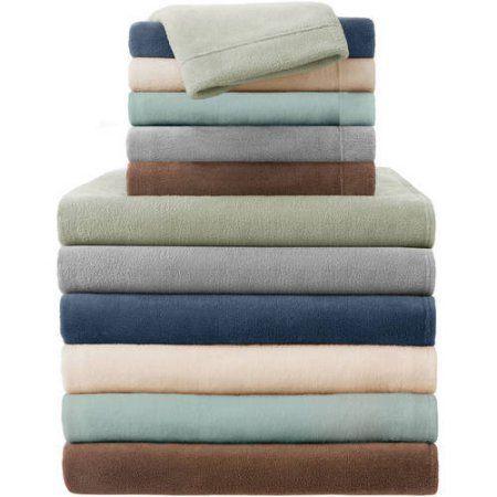 Comfort Classics Soloft Plush Sheet Set, Gray
