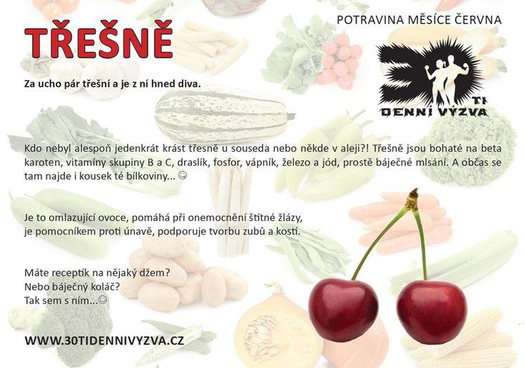 ČERVEN - Třešně - 30ti denní výzva