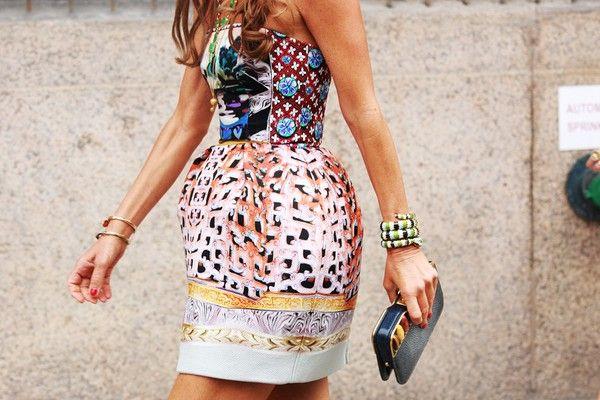 maryFashion, Summer Wedding, Mary Katrantzou, Street Style, Beautiful Dresses, Mixed Prints, The Dresses, Mixed Pattern, Anna The Russian