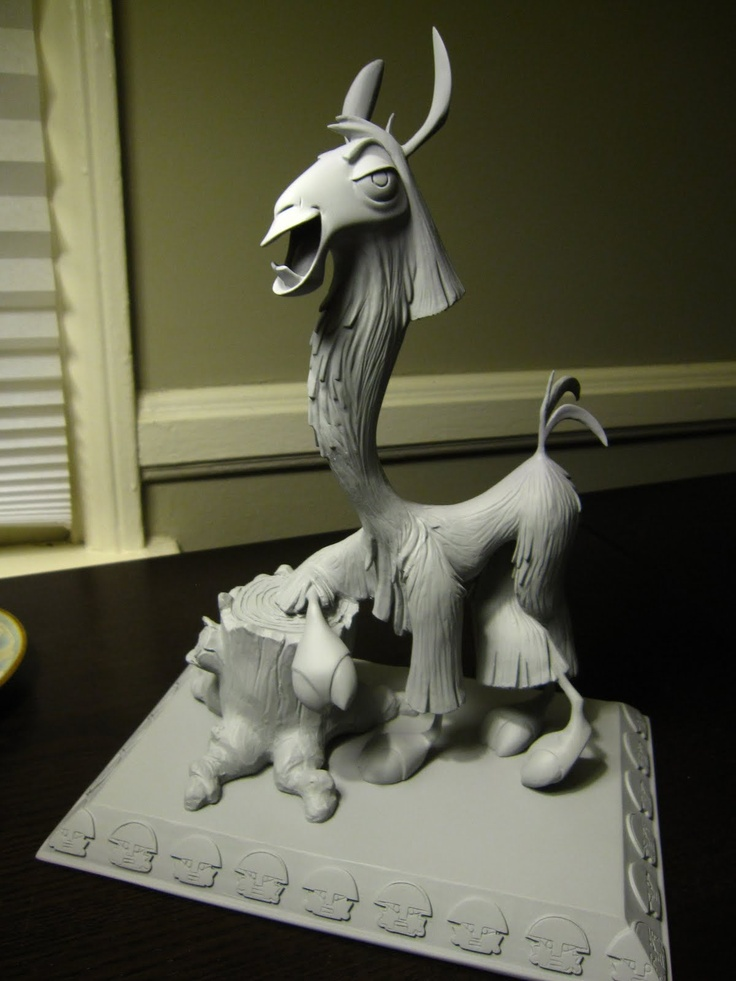 Omar Smith Art: #Disney Kuzco #Maquette by Raffaello Vecchione