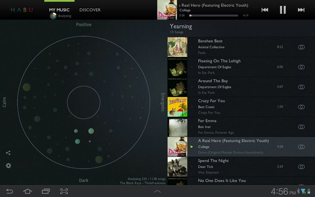HABU :: Cool Hunting :: A new Android app that curates mood-based music playlists (iPad app coming in spring)