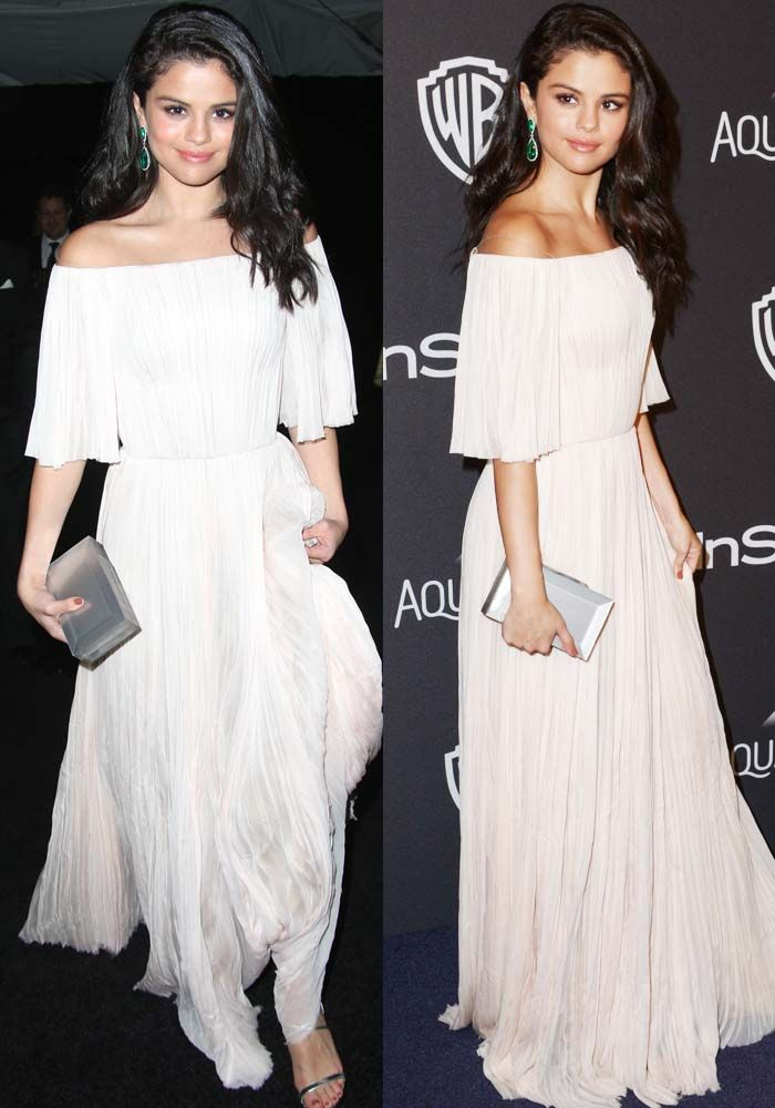 Selena Gomez at the InStyle and Warner Bros 73rd Annual Golden Globes Post-Party at the Beverly Hilton Hotel in Los Angeles on January 10, 2016