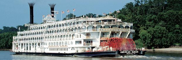 The Grand American Queen •The only authentic overnight paddlewheel steamboat in America http://usarivercruises.com/ship/american-queen/