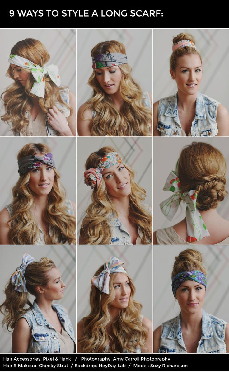 how to do your hair style how to style a scarf in your hair scarf hair 6418