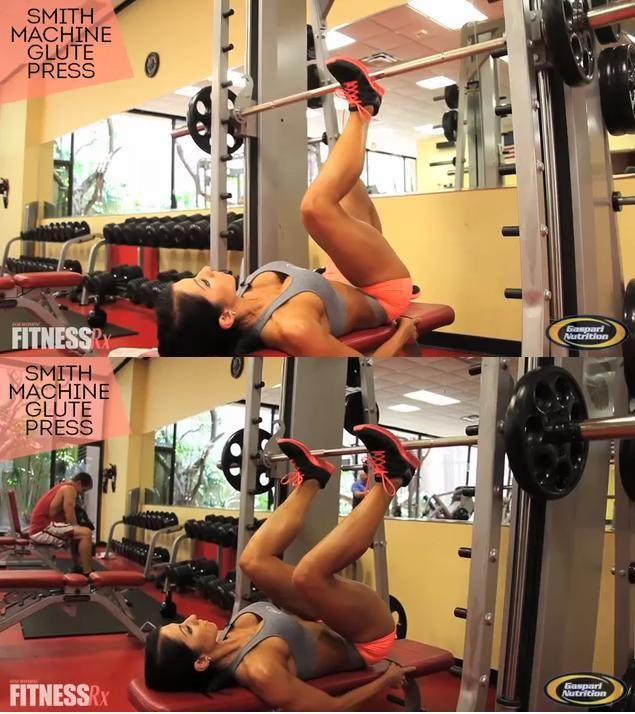 Glutes meet smith machine: prepare to be sculpted. catcore.blogspot.com