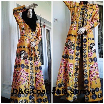 D&G Coat #Lia Soraya