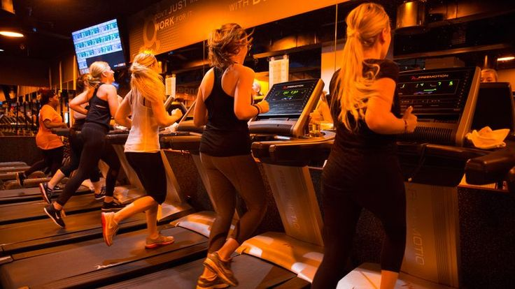 Orange Theory Fitness. I love this place!