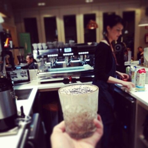 Warrior Stracciatella Smoothie was born on this very moment
