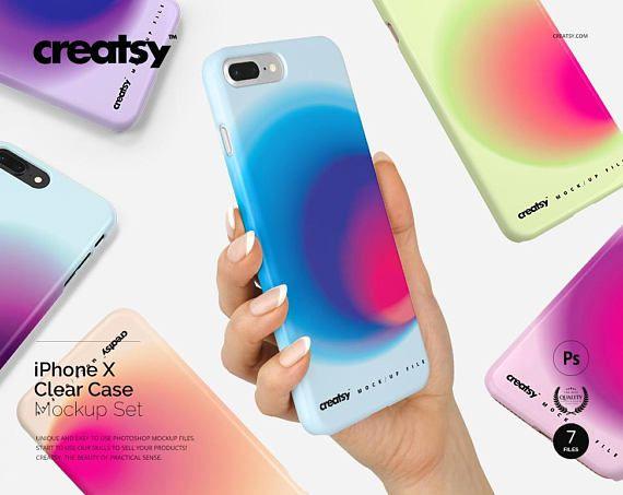 Download Free Iphone 7 Plus Snap Case Mockup Set Plastic Full Psd Free Psd Mockups Free Packaging Mockup Mockup Free Psd Free Psd Mockups Templates