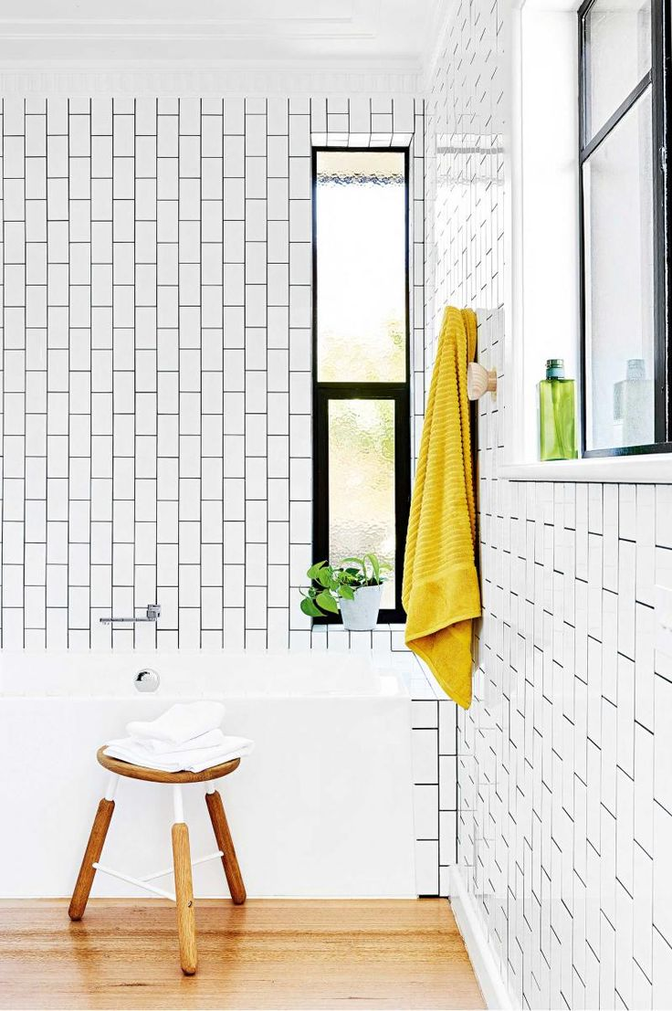 108 best bathroom images on pinterest bathroom ideas room and bathroom before after white bathroom bathroom inspiration bathroom ideas subway tiles family homes laundry black white bathrooms