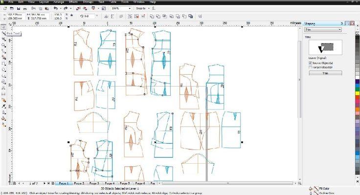 drafting cutting pattern