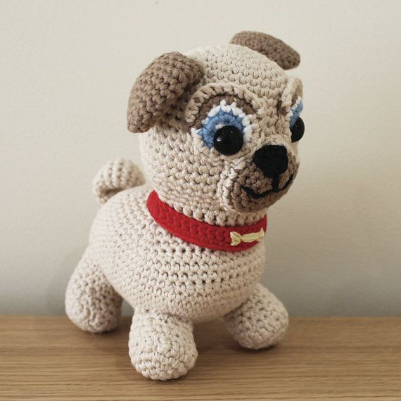 amigurumi pug by jaravee (pattern available) by MERR | Ganchillo ... | 570x570