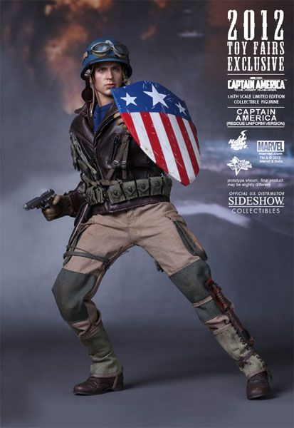 Sideshow Collectibles - Captain America - Rescue Version Sixth Scale Figure