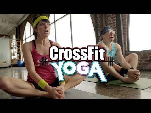 If CrossFitters Took a Yoga Class - YouTube