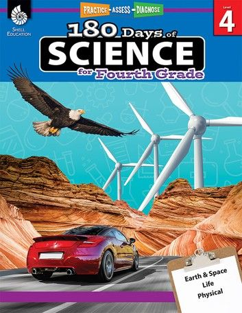 180 Days Of Science For Fourth Grade: Practice, Assess, Dia…