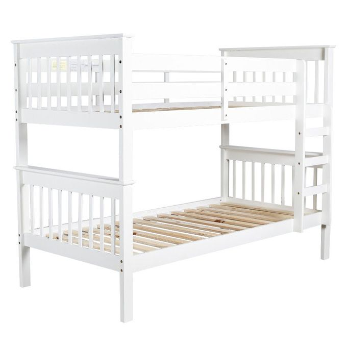 Save on the Dover King Single Bunk Bed with Optional Trundle Bed and a wide range of products at Beds Online