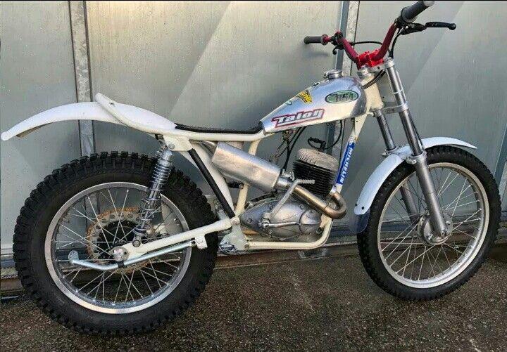 Pin Von Kit Harrison Auf Trials Bikes Motorrad