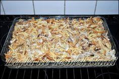 Firinda Kremali Tavuklu Eriste | Leyla ile Yemek Saati